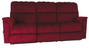 Country View Furniture 100 Series Reclining Couch Red
