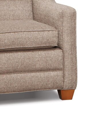 Country View Furniture Square Leg Front Couch Chair Love ...