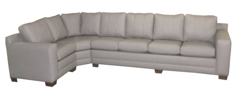 country wide furniture grey sectional couch round corner with square arms